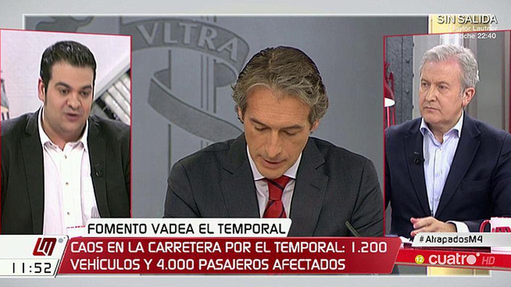 """Nino Torre (PSOE), sobre la nevada: """"Hubo una gestión desastrosa"""""""