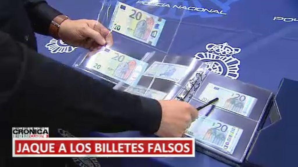 Jaque a los billetes falsos: en 'Crónica Cuatro' aprendemos a distinguirlos