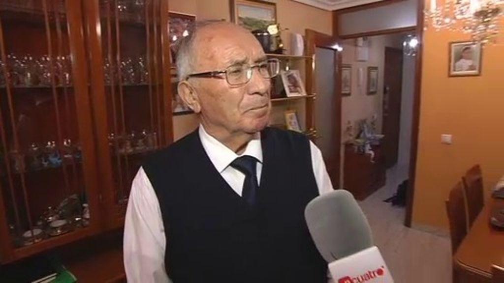 """José Antonio Casanueva, abuelo de Marta del Castillo: """"No perdemos la esperanza"""""""