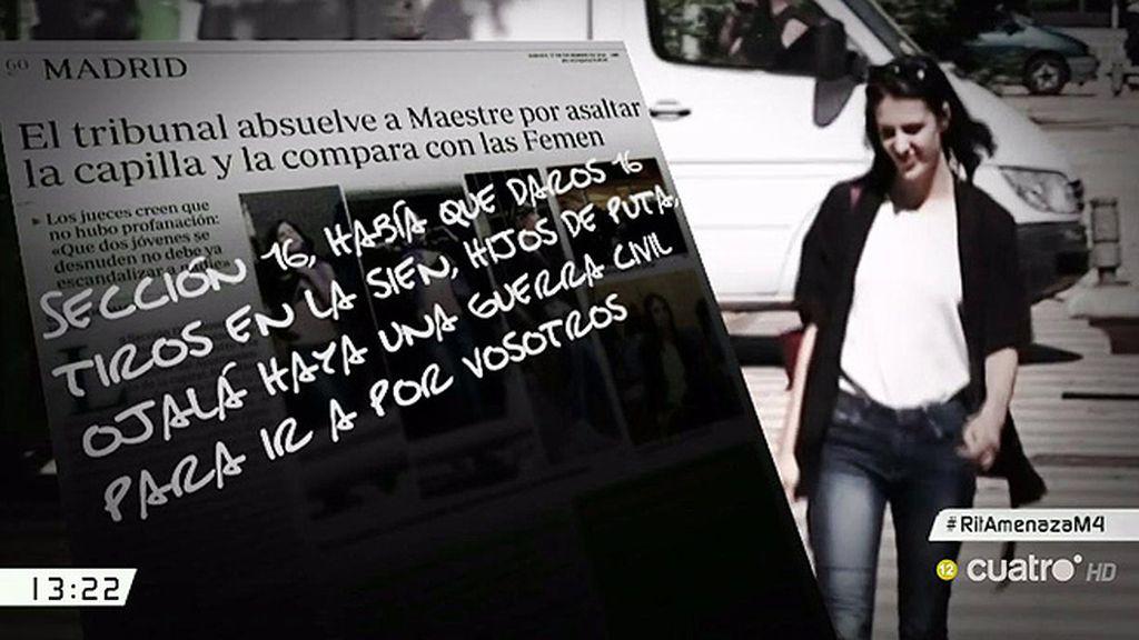 La sección 16 de la Audiencia de Madrid recibe un anónimo con amenazas a Maestre