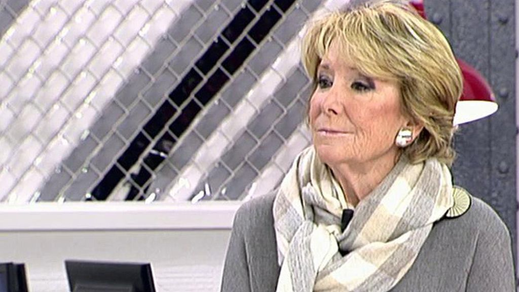 """Esperanza Aguirre: """"Dimití como presidenta del PP de Madrid por asumir la responsabilidad in vigilando"""""""