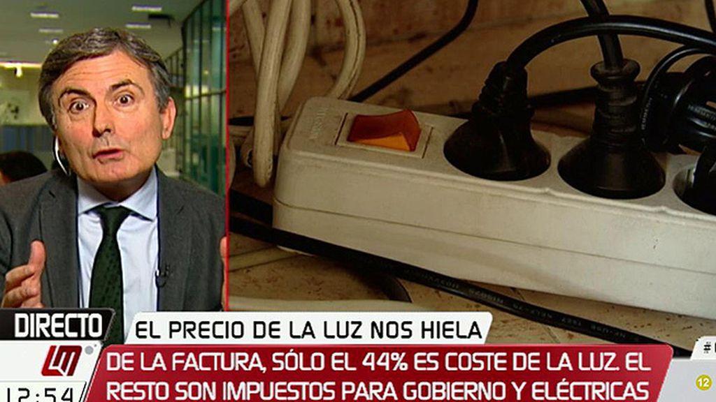 """Pedro Saura, sobre la luz: """"Necesitamos una auditoría de costes"""""""