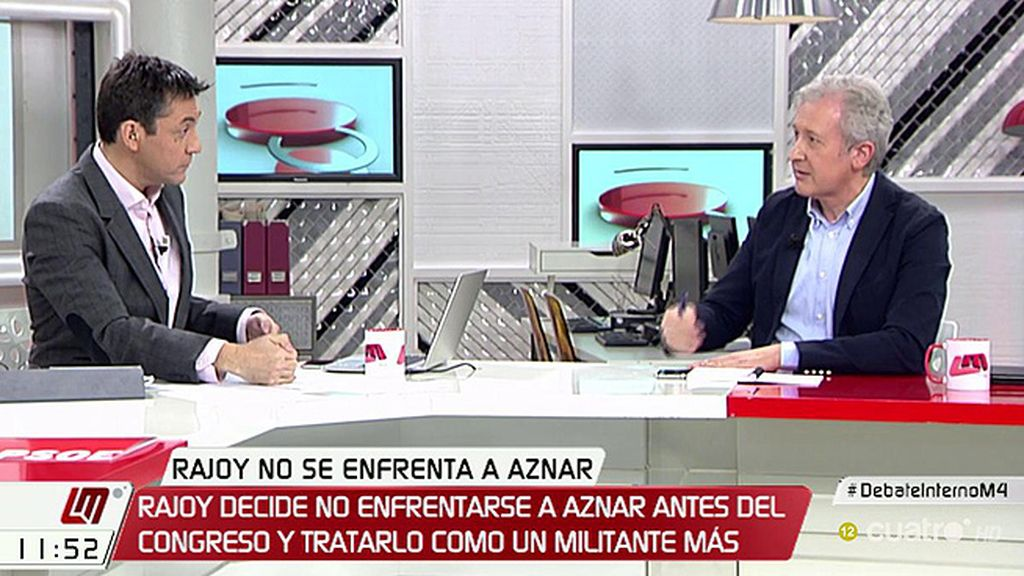 """E. del Río (PP): """"Lo que no hay en el PP es una lucha interna por los sillones"""""""