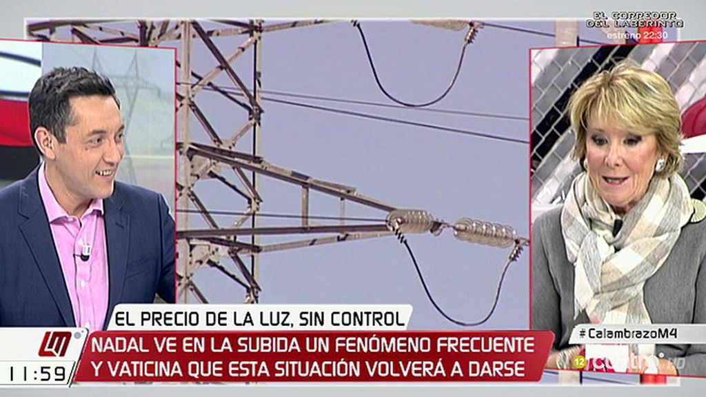"""Aguirre: """"El ministro de Energía se equivoca diciendo que no puede hacer nada"""""""