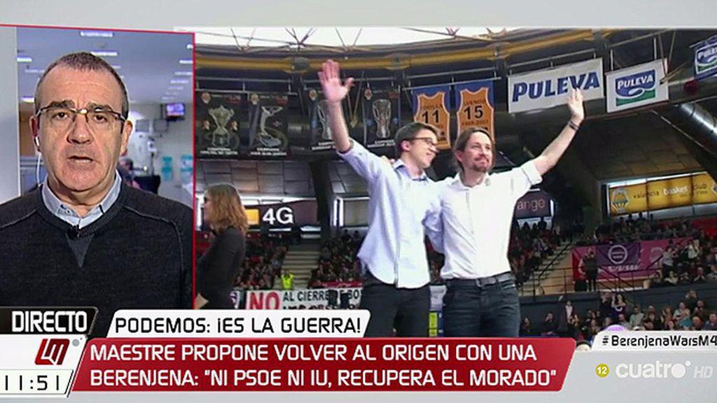 """Yllanes, de Podemos: """"No queremos parecernos a nadie, ni al PSOE ni a IU"""""""