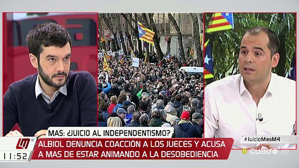 """I. Aguado, sobre Cataluña: """"Detrás de todo este show hay una gran cortina de humo"""""""