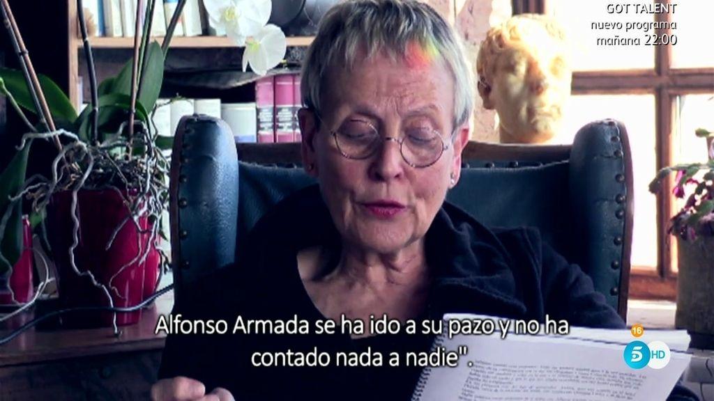 """Danielle: """"En la víspera del 23F, Juan Carlos le dijo a Bárbara que no saliera de casa"""""""