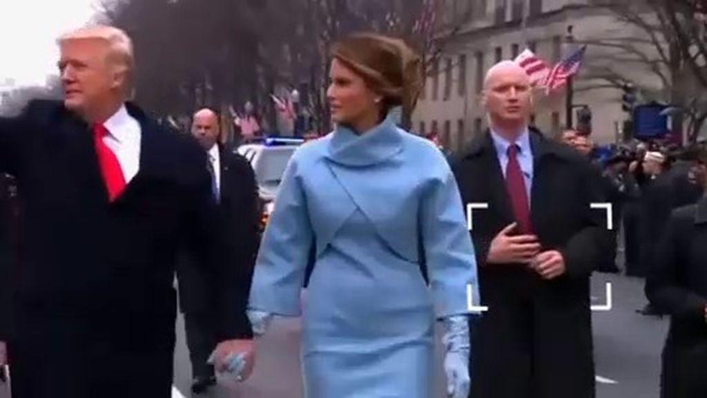 Resolvemos el misterio: ¿llevaba manos falsas uno de los escoltas de Trump?