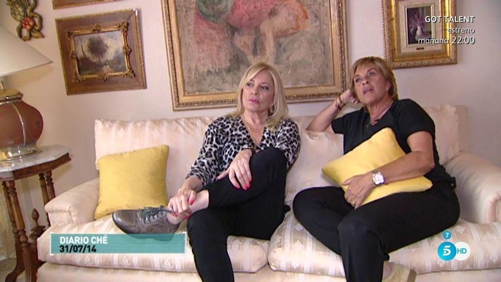 Las insinuaciones de Bárbara Rey a Chelo en 'Diario Ché'