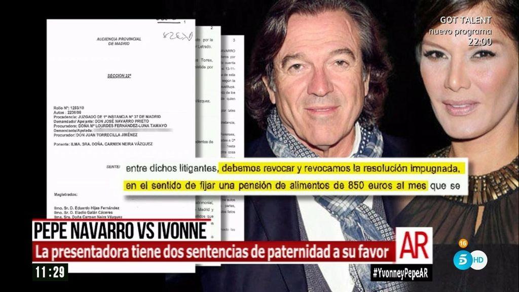 El programa de 'AR' tiene acceso a las dos sentencias ganadas por Ivonne Reyes