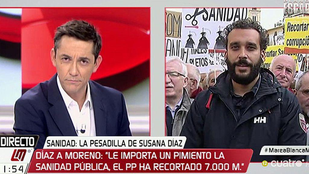 """Spiriman, de Susana Díaz: """"Está engañando a la ciudadanía"""""""