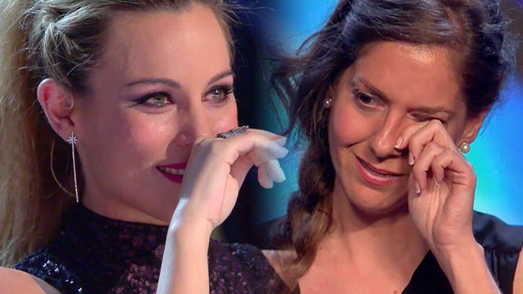 """Edurne se derrumba tras la preciosa actuación de Cristina: """"¡Qué bonito!"""""""