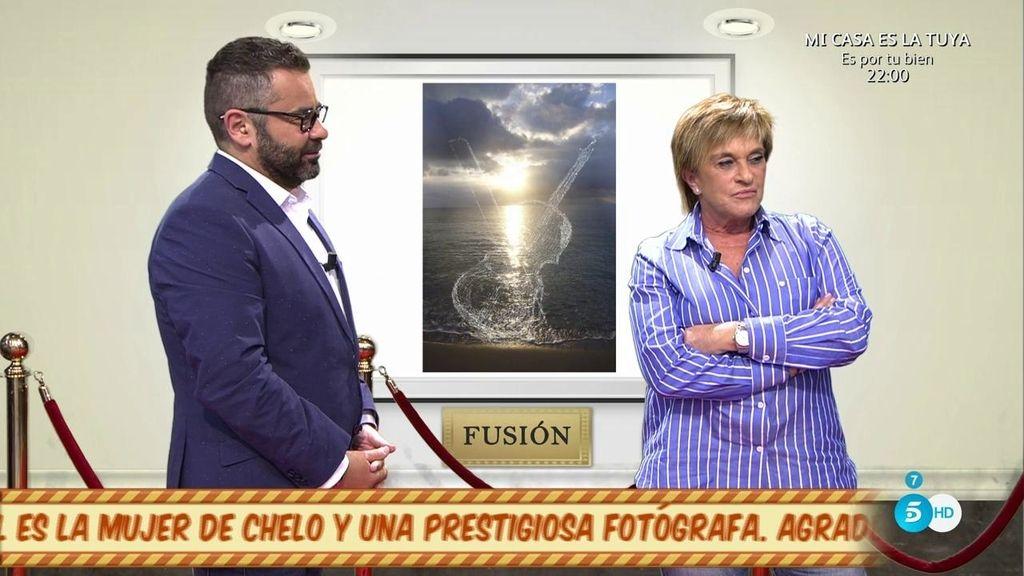 """Chelo ve las fotos de su mujer: """"Para mí marta es una artista"""""""