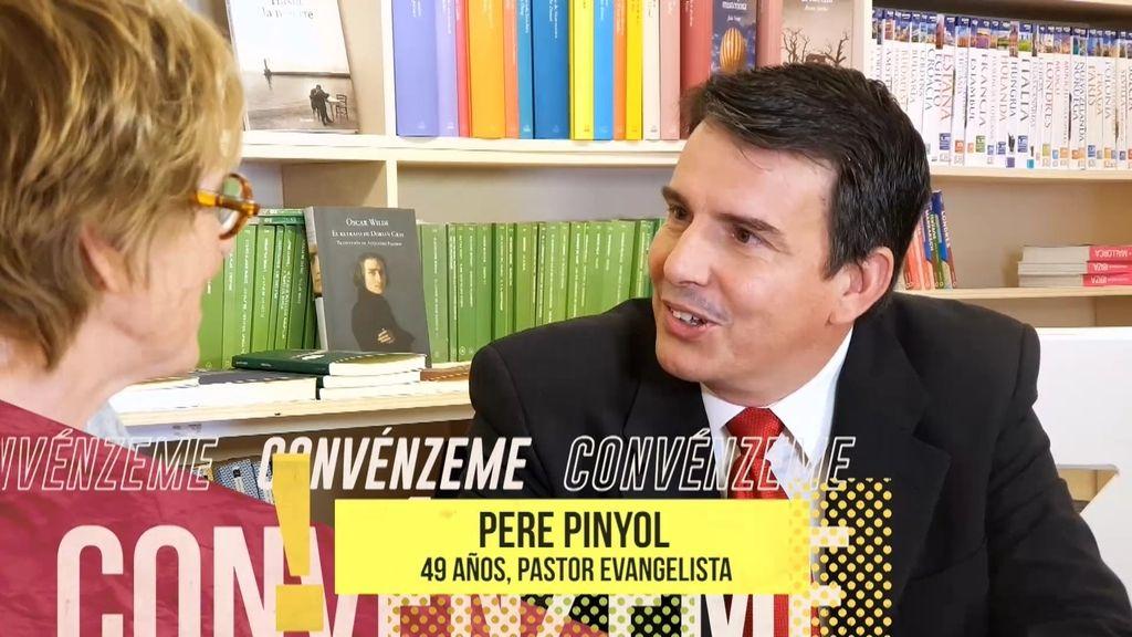 """Pere Pinyol recomienda la Biblia a Mercedes: """"Cambió mi vida con tan sólo diez años"""""""