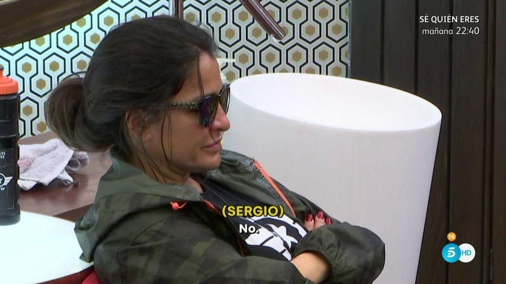 Aída, a Sergio, sobre Ivonne: ¿Cómo no le vas a gustar si te dobla la edad?