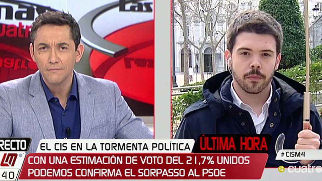 """Nacho Corredor valora los datos del CIS: """"En verano, Podemos no estaba por encima del PSOE y hoy se está consolidado"""""""