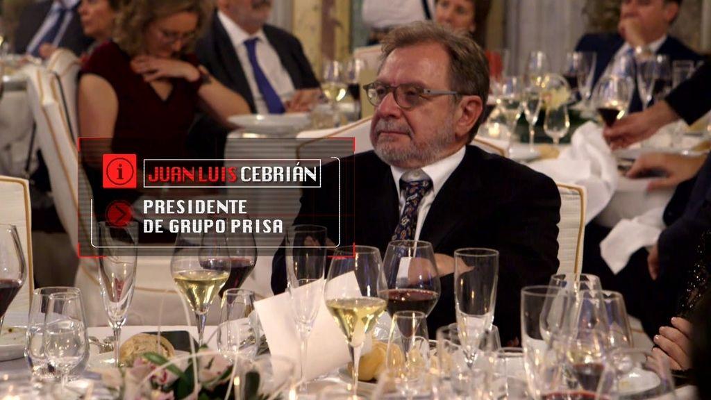 Juan Luis Cebrián y Vicente del Bosque comparten mesa de 3.000€ en la cena benéfica de Isabel Gemio