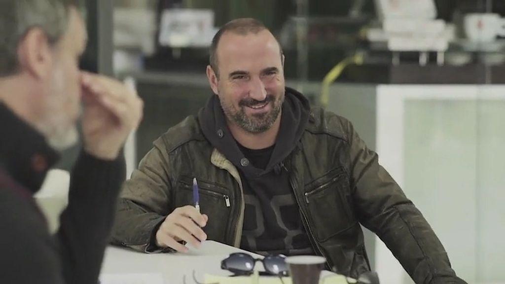 ¡Exclusivo! Los actores confiesan su gran admiración por el director Pau Freixas