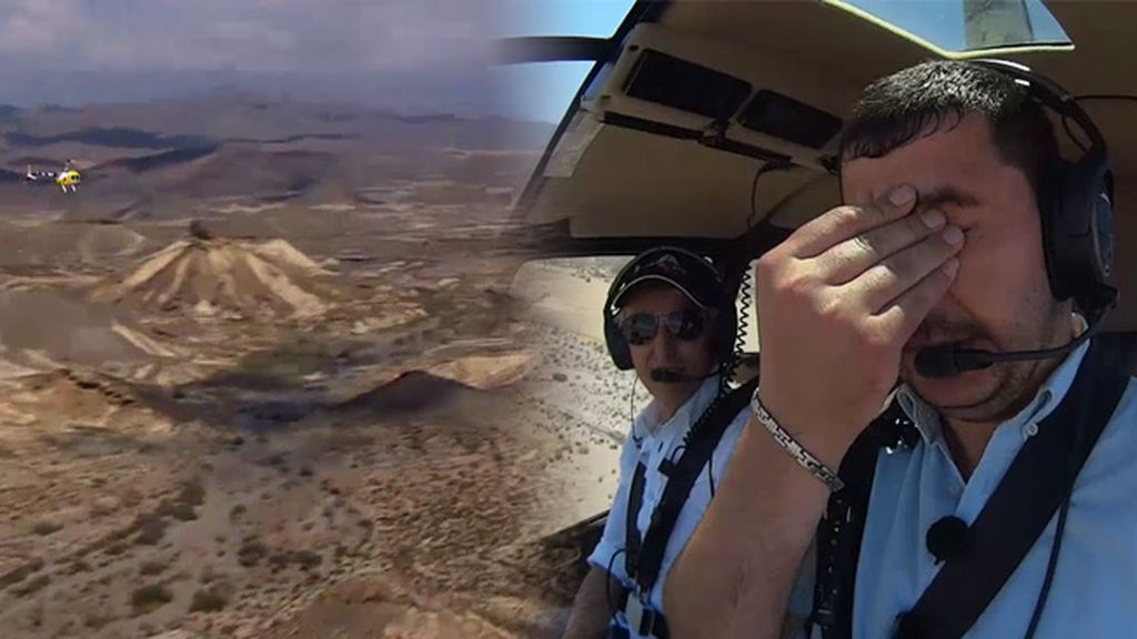 El impresionante desierto de las Tabernas visto desde las alturas