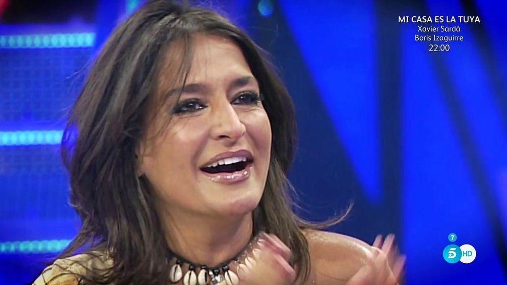 """Aída Nízar: """"La televisión me necesita, lograré que toda España grite"""""""