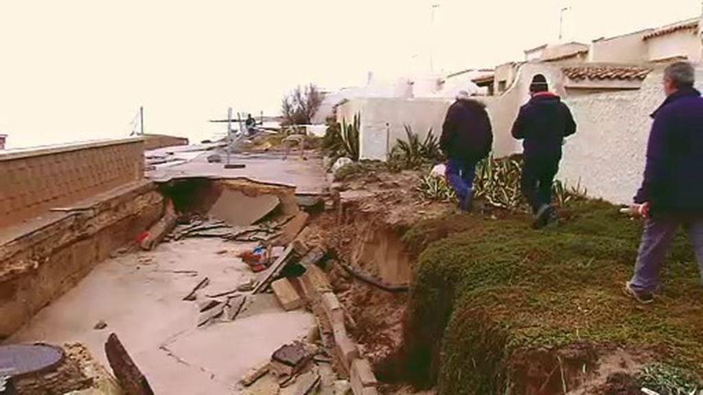 Pérdidas millonarias a causa del temporal en la costa mediterránea