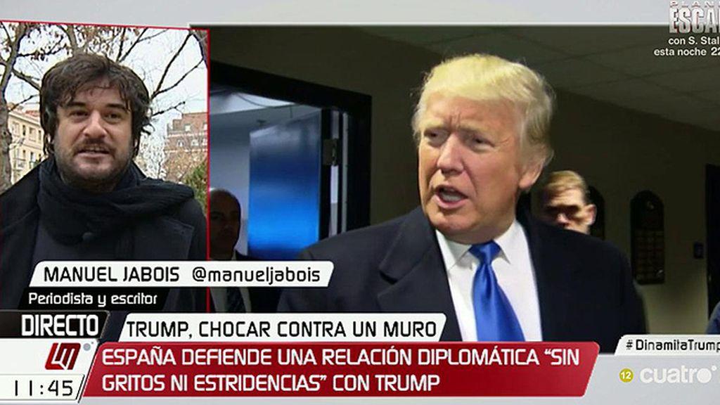 """Manuel Jabois, sobre Trump: """"Las señales son bastante tenebrosas"""""""