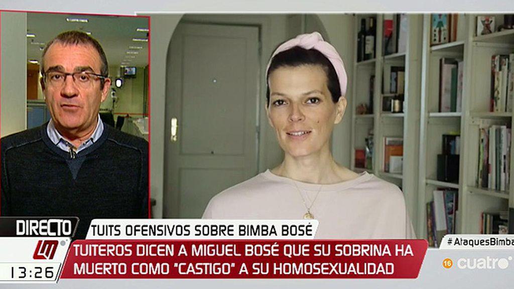 """Yllanes, de los tuits ofensivos sobre Bimba Bosé: """"Sería bueno que Fiscalía tome cartas"""""""