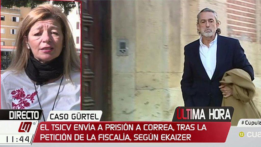 """Ana Garrido: """"Esto del ensañamiento con los corruptos me da la risa"""""""