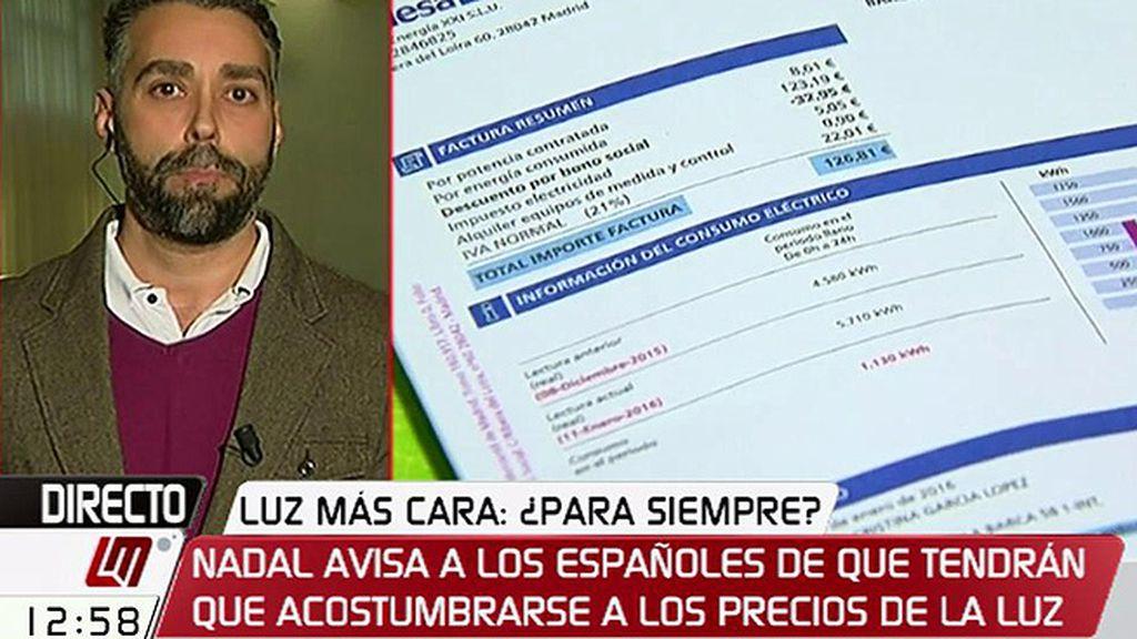 """Rubén Sánchez (Facua), sobre las eléctricas: """"La solución no es decir les hemos pillado, sino un cambio radical en el sector"""""""