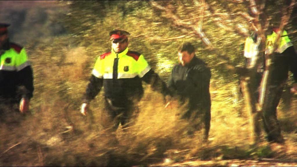 El cazador de Lleida vuelve al lugar del crimen