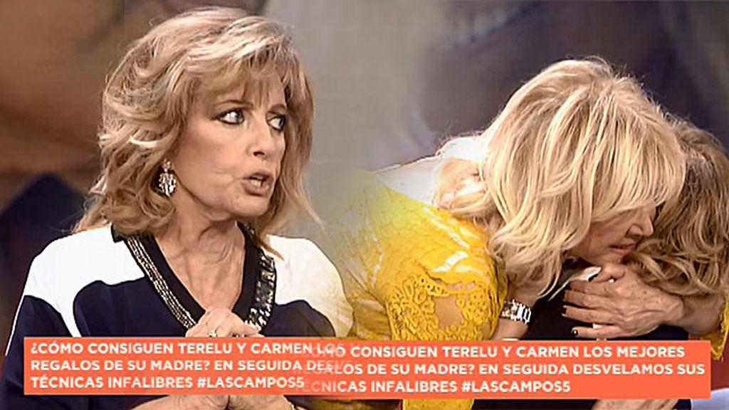 """María Teresa: """"Es machista pensar que es a mí a quien se le cae la baba con Edmundo"""""""