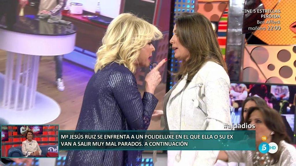 El brutal enfrentamiento entre Mila Ximénez y la defensora de Elettra Lamborghini