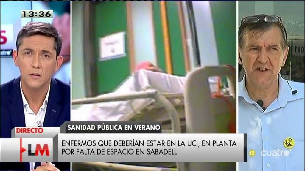 Las medidas de ahorro de un hospital de Sabadell incluyen dar altas prematuras