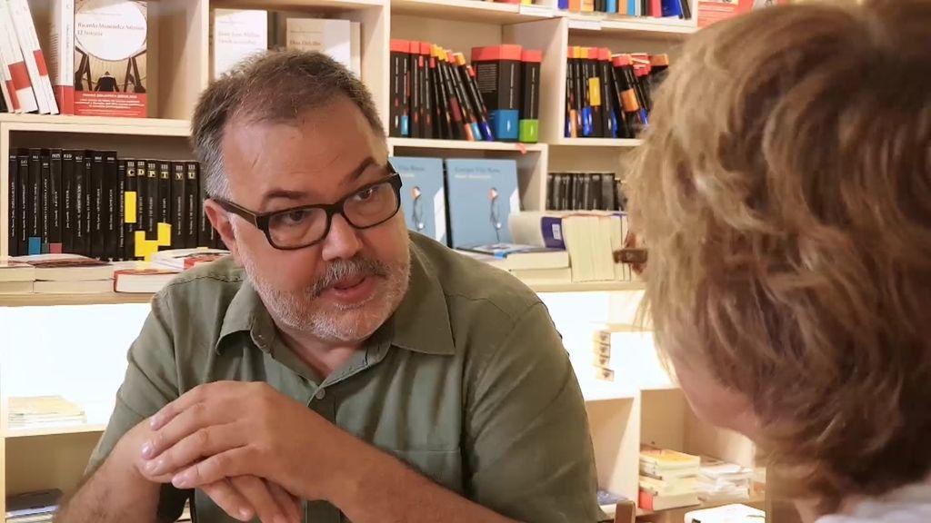 """Josep: """"No me quiero cargar ningún libro, pero no puedo con los de autoayuda"""""""