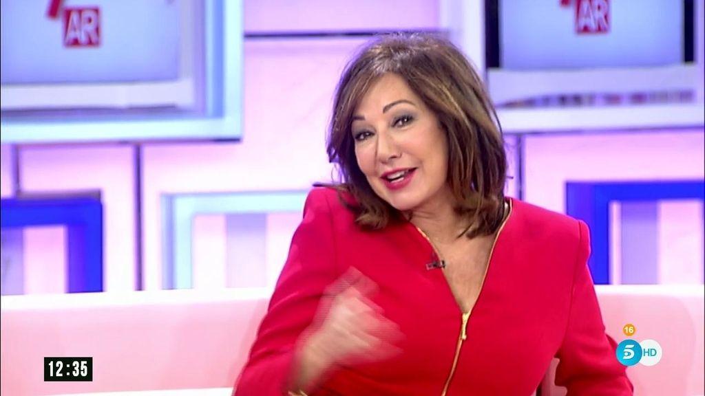 """Ana Rosa recibe el premio 'Mujer hoy': """"Es un orgullo"""""""