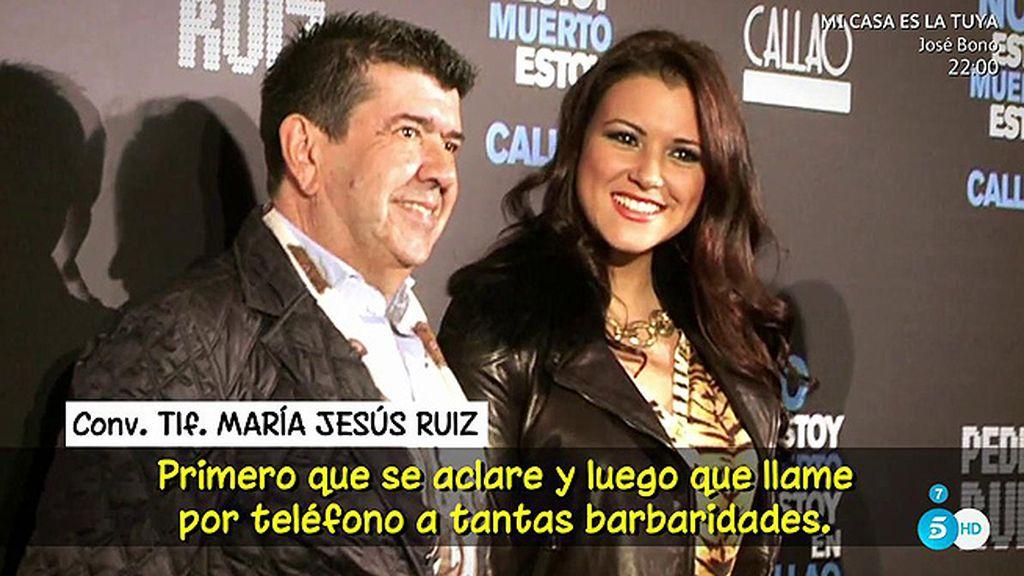 """Gil Silgado demandará a Mª Jesús Ruiz pero ella no se lo cree: """"Su credibilidad es cero"""""""