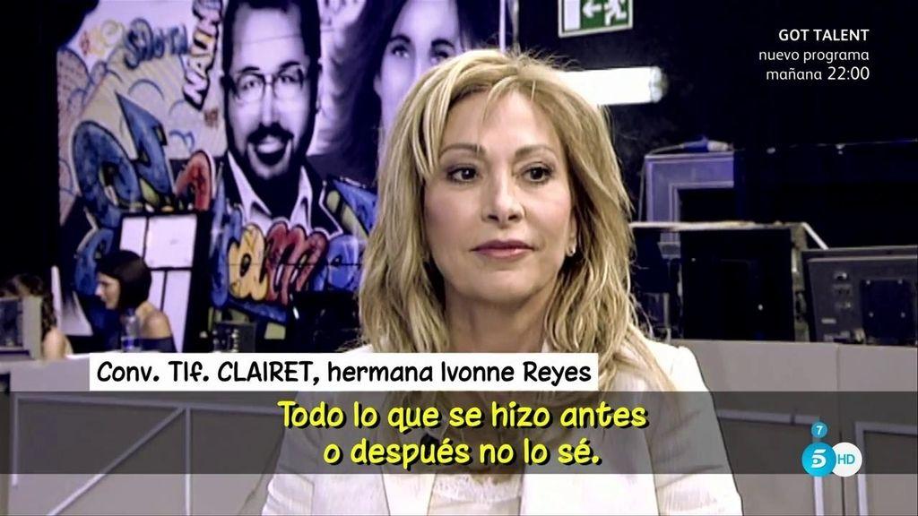 La hermana de Ivonne Reyes anuncia que la concursante de 'GH' podría demandar