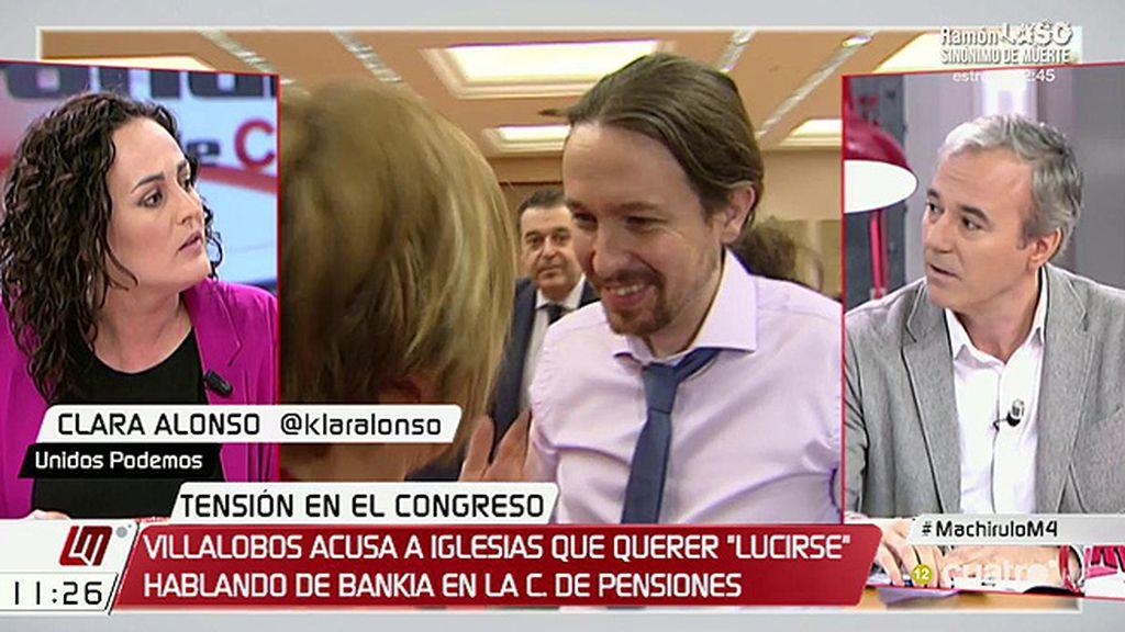 """Jorge Azcón (PP): """"Iglesias confundió el Congreso con un plató de televisión"""""""