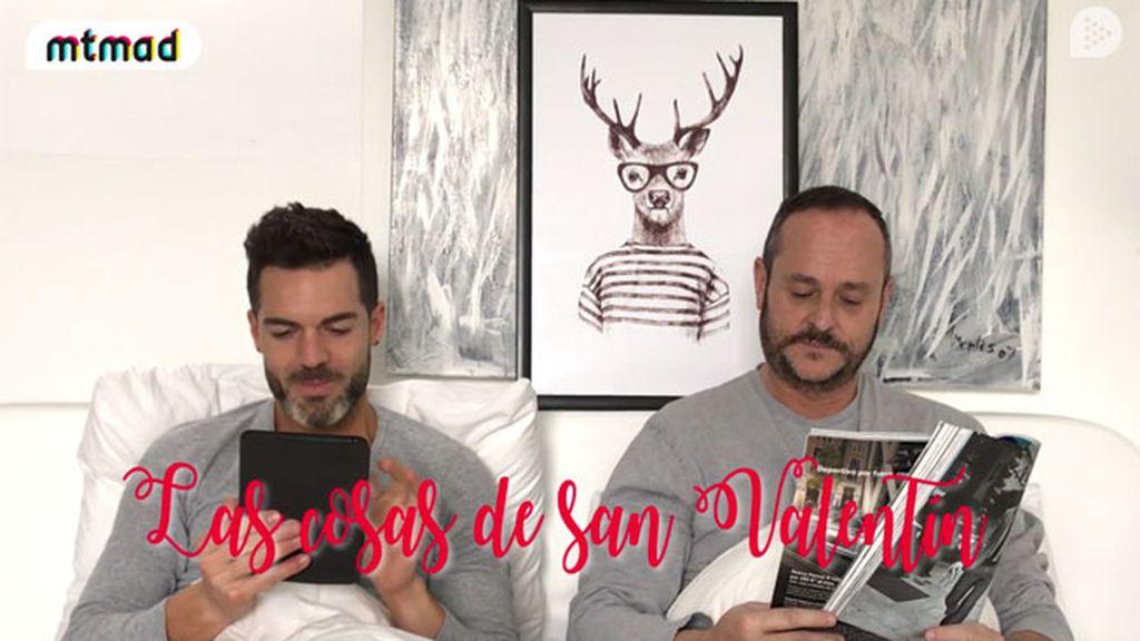 Nacho versus Roger en San Valentín: ¿quién es el más romántico de los dos?