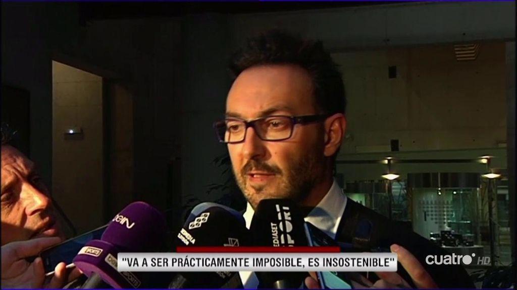 """El representante de Zozulya: """"Es casi imposible que Roman juegue en Vallecas"""""""