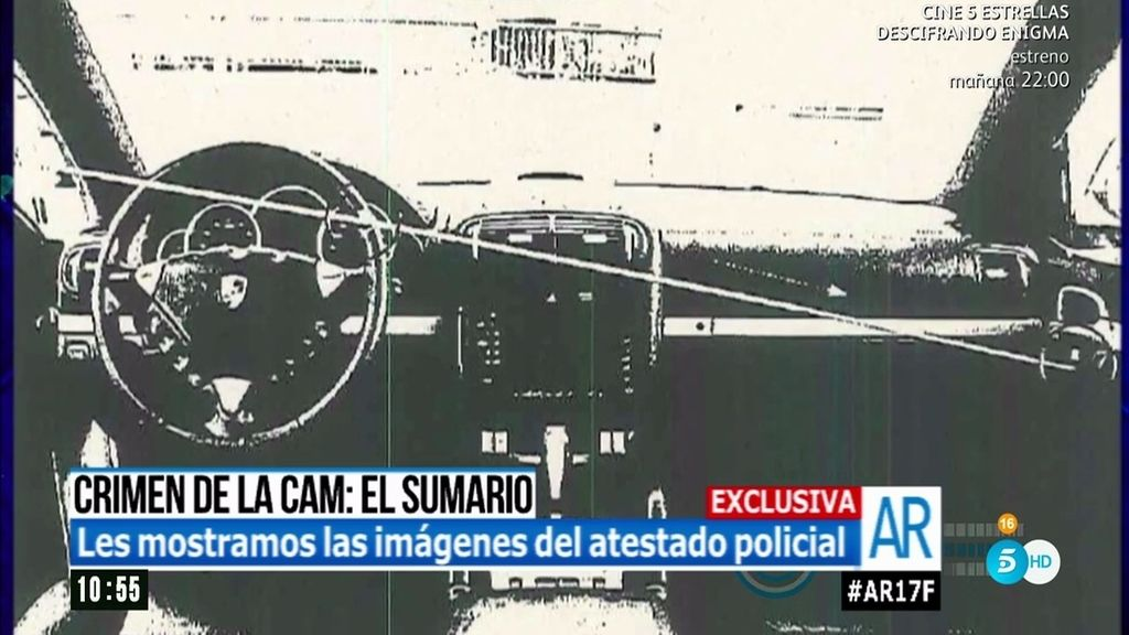 Dos balas, cuatro impactos…'AR' explica el informe de balística del crimen de la CAM