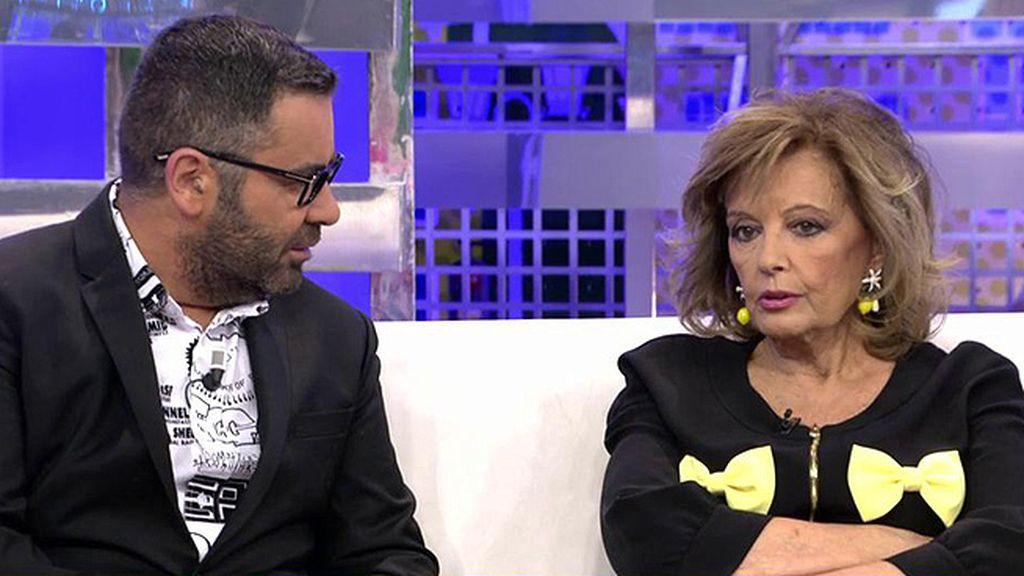 """Teresa Campos cree que las formas de J.J. Vázquez con Pantoja fueron """"muy duras"""""""