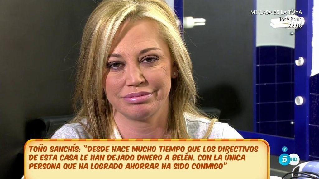 """Belén Esteban, a Ana Rosa: """"Si es verdad que os he pedido dinero adelantado dilo"""""""