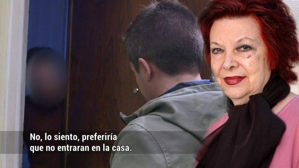 """La herencia de María Asquerino, en manos de un """"okupa de lujo"""""""
