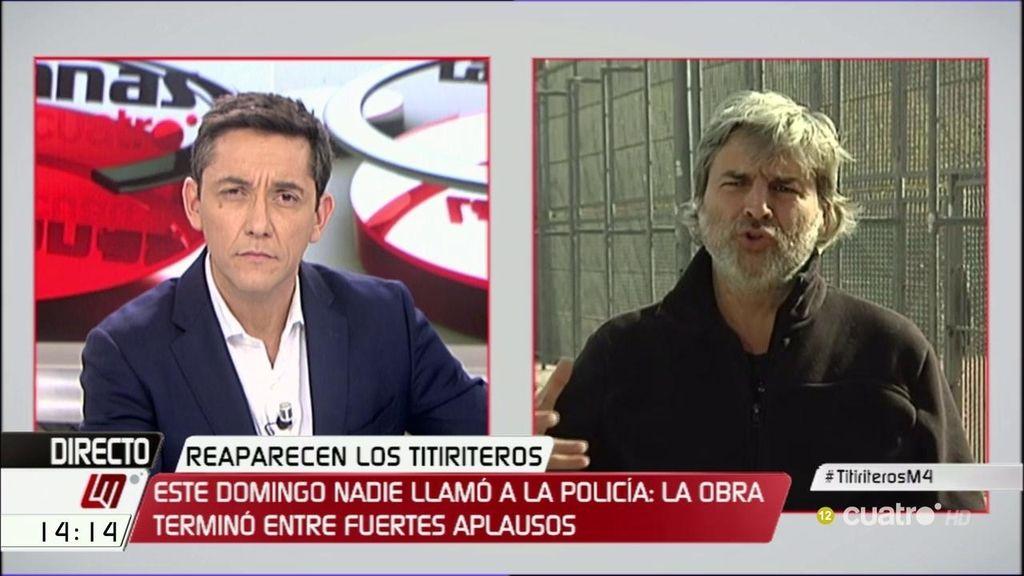 """A. San Juan: """"Hay una represión a todos los niveles contra la potencia del cambio"""""""
