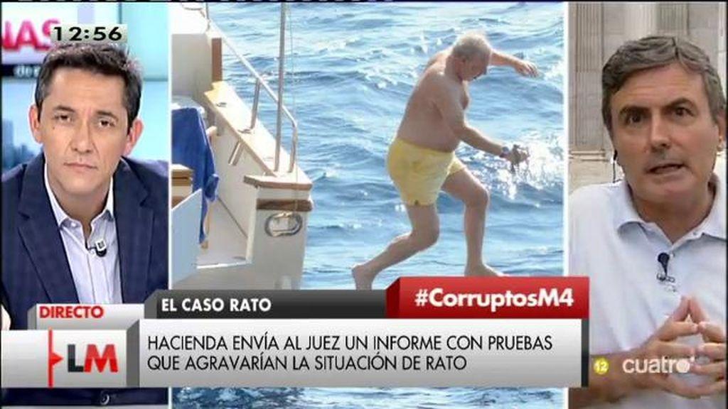 """Pedro Saura: """"Están utilizando las instituciones en beneficio del PP"""""""