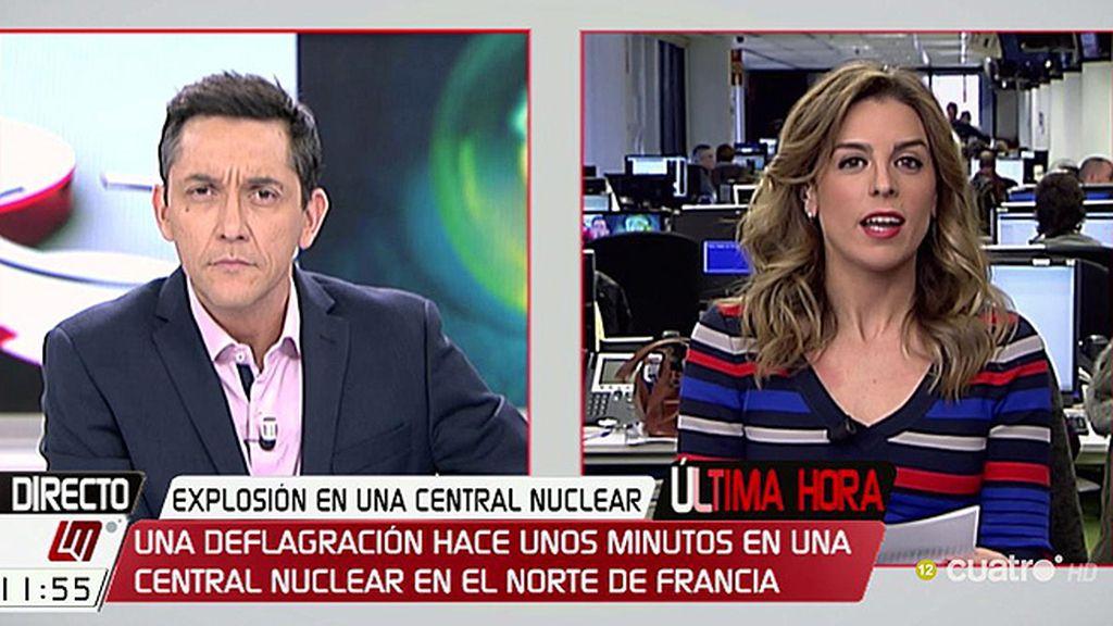 Se produce una explosión en una central nuclear en Francia