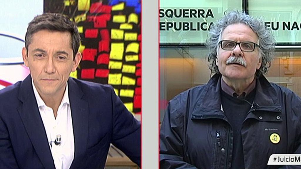 """Joan Tardà: """"Ante un juicio político que pretende invalidar la voluntad política de una mayoría catalana, respondemos cívicamente"""""""