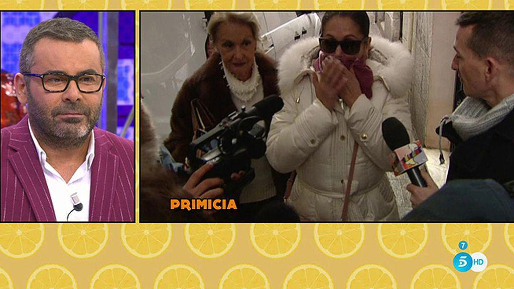 Primicia: Primeras imágenes de Pantoja tras la polémica con J.J. Vázquez