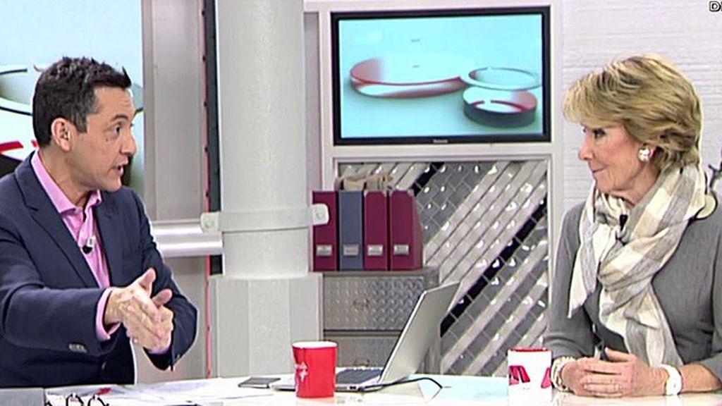 """Esperanza Aguirre: """"No creo que Aznar vaya a fundar un partido contra el PP y tampoco que el PP vaya a ir contra Aznar"""""""